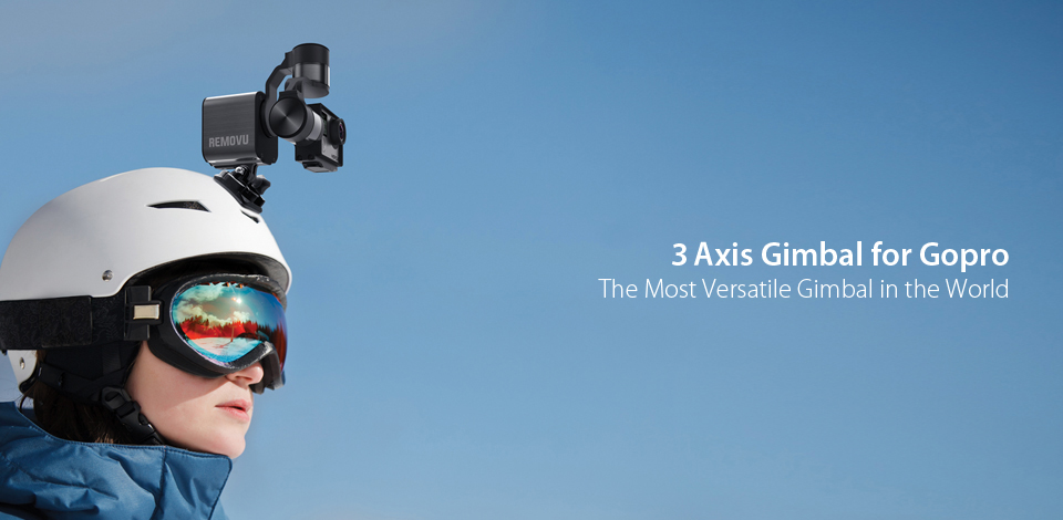 3 Axis Gimbal for Gopro